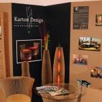 Karton design, mobilier en cartons