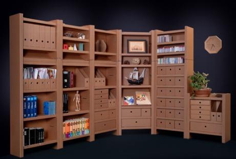 Karton design mobilier en cartons bricoleur malin - Objet en carton facile a faire ...