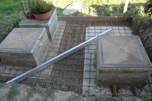 Comment couler une dalle en b ton arm bricoleur malin - Couler une dalle beton ...