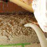 Système Thermofloc, isoler un vieux plancher des infiltrations