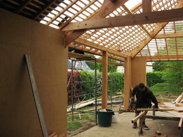 Tout savoir sur la maison ossature en bois et ses for Avantage maison ossature bois