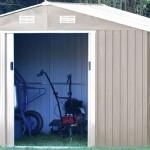 Abri de jardin en métal : avantages et inconvénients
